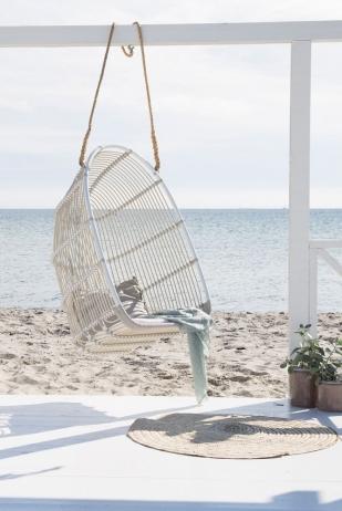 Sika-Design Renoir keinutuoli dove white