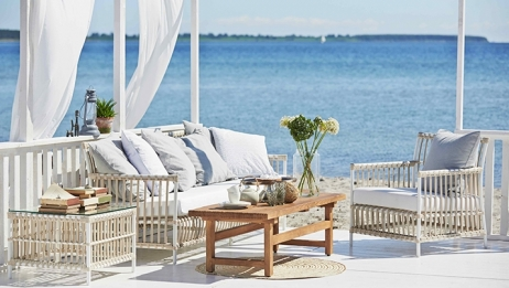 Sika-Design Caroline pöytä dove white