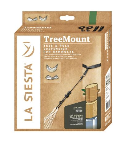 La Siesta Kiinnityssetti riippumatolle puu- ja tolppakiinnitys TMF45-9