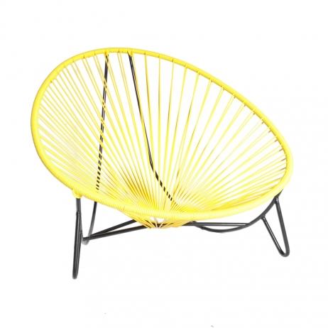 Tulum lounger keltainen