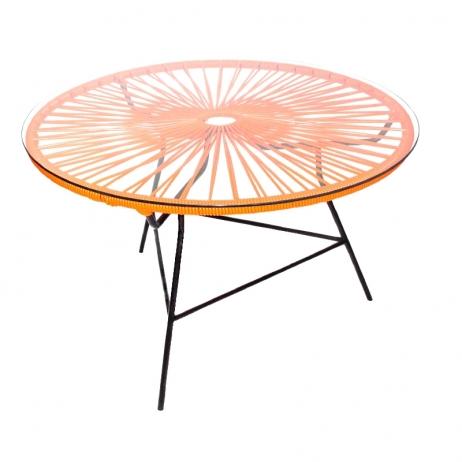 Zipolite kahvipöytä oranssi